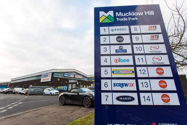 Thumbnail Light industrial to let in Mucklow Hill Trade Park Mucklow Hill, Halesowen