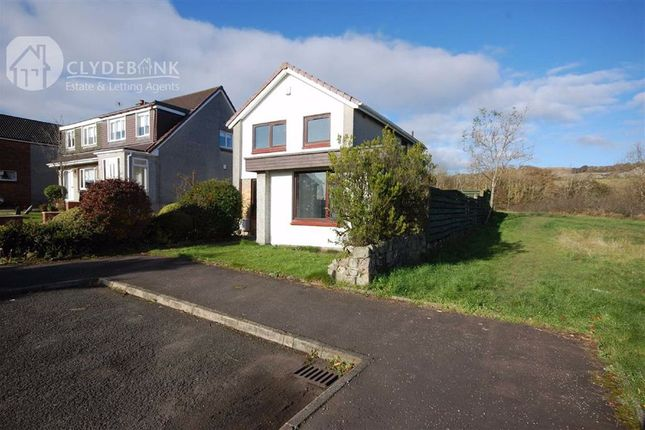 Thumbnail Detached house for sale in Heather Avenue, Hardgate, Clydebank