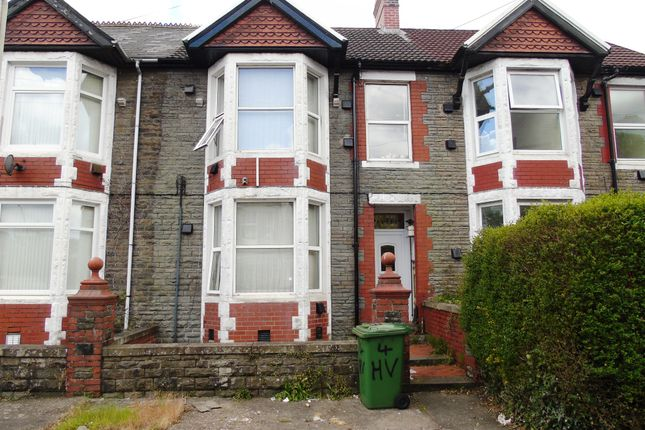 Thumbnail Terraced house for sale in Heathfield Villas, Treforest, Pontypridd