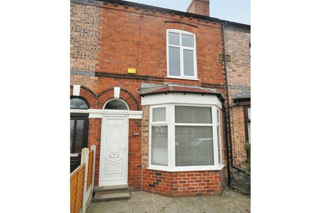 Thumbnail 2 bed terraced house for sale in Crow Lane East, Newton-Le-Willows, Merseyside