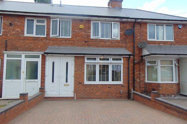 Thumbnail Terraced house for sale in Round Road, Erdington, Birmingham
