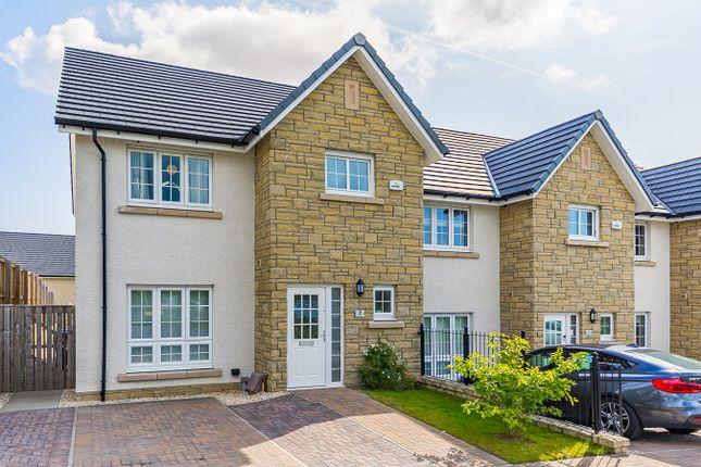 Thumbnail End terrace house for sale in Ashgrove Gardens, Loanhead