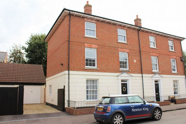 Thumbnail Semi-detached house for sale in Fields End, Hillyfields, Taunton