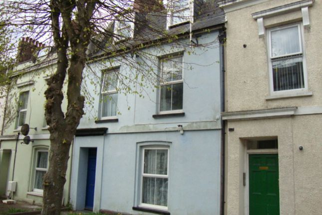 Thumbnail Flat to rent in Fff Flat 1 15 Victoria Place, Stoke, Plymouth