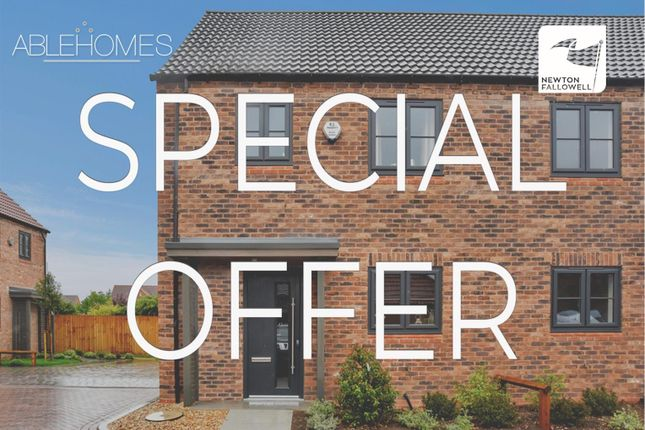 Thumbnail Cottage for sale in Special Offer, Hawfinch Meadows, Retford