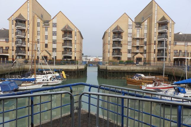 Thumbnail Flat to rent in Emerald Quay, Harbour Way, Shoreham-By-Sea, West Sussex