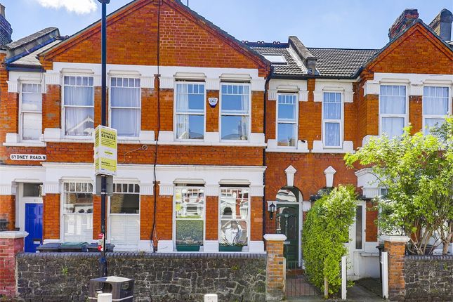 Thumbnail Terraced house for sale in Sydney Road, Crouch End, London