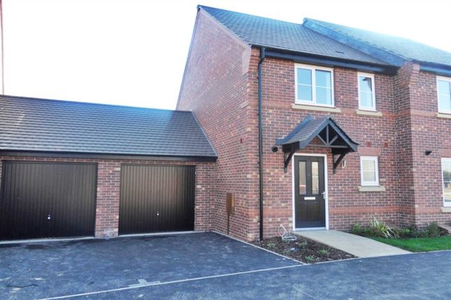 Thumbnail Semi-detached house to rent in Tutbury Avenue, Littleover, Derby