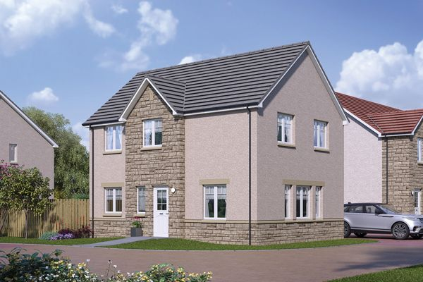 3 bedroom detached house for sale in Just Off East Stirling Street, Alva