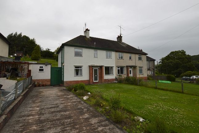 Thumbnail Semi-detached house to rent in Maes Lliwen, Nantglyn, Denbigh