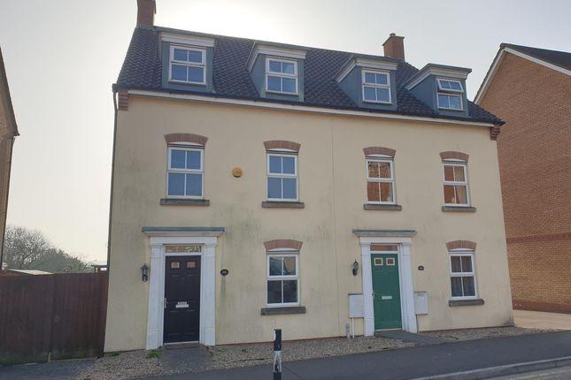 Thumbnail Town house for sale in Longacres, Brackla, Bridgend