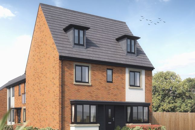 """5 bed detached house for sale in """"The Regent"""" at Rhodfa Lewis, Old St. Mellons, Cardiff CF3"""