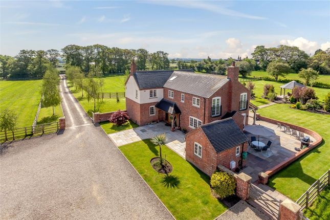 Thumbnail Detached house for sale in Whitchurch Road, Sound, Nantwich
