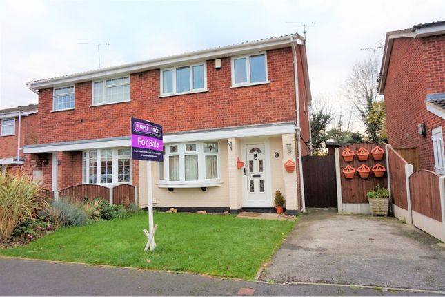 Thumbnail Semi-detached house for sale in Goodwood Drive, Derby