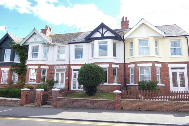 Thumbnail Terraced house for sale in Ashley Avenue, Folkestone