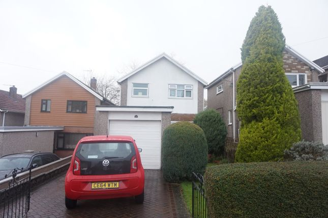 Thumbnail Detached house for sale in The Spinney, Pontllanfraith, Blackwood