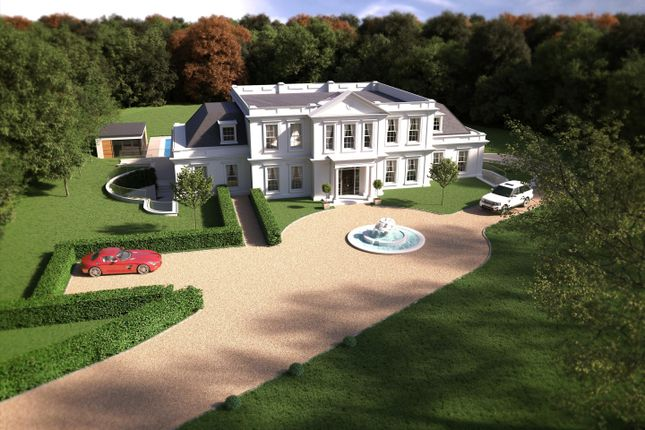 Thumbnail Property for sale in Wentworth Estate, Virginia Water, Surrey