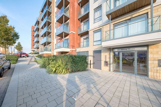 Thumbnail Flat for sale in Envoy House, Beaufort Park, Colindale
