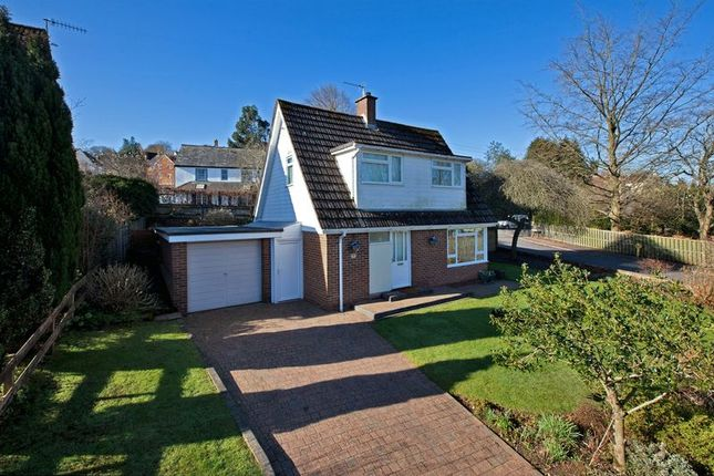 Thumbnail Detached house to rent in Withy Close, Tiverton
