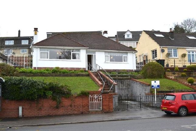 Thumbnail Detached bungalow for sale in Chepstow Road, Newport, Gwent.