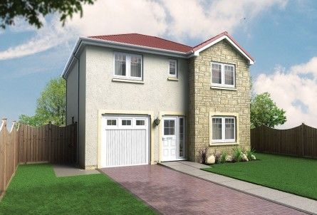 Thumbnail Detached house for sale in Plot 32, Laurel Bank, Station Road, Springfield, Fife