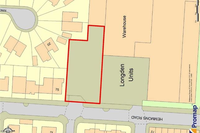 Thumbnail Land for sale in Hemmons Road, Longsight, Manchester