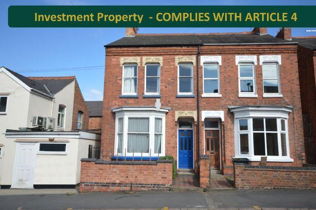 Thumbnail Semi-detached house for sale in Clarendon Park Road, Clarendon Park, Leicester