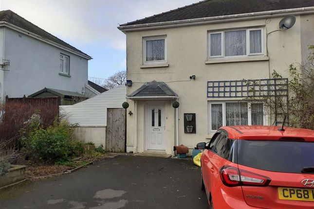 Thumbnail Semi-detached house for sale in Maesderwenydd, Pencader