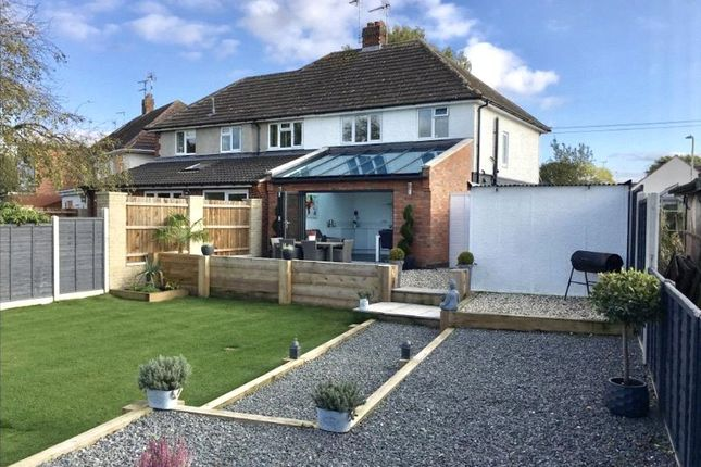 3 bed semi-detached house for sale in Vicarage Close, Kirby Muxloe, Leicester, Leicestershire