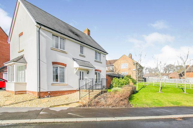 Thumbnail Detached house for sale in Merrington Way, Tidworth