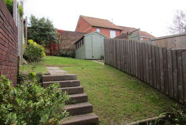 Back Garden of Slade Close, Plymstock, Plymouth PL9