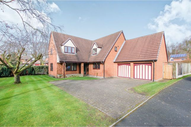 Thumbnail Detached house for sale in Holm Oak Drive, Madeley, Crewe