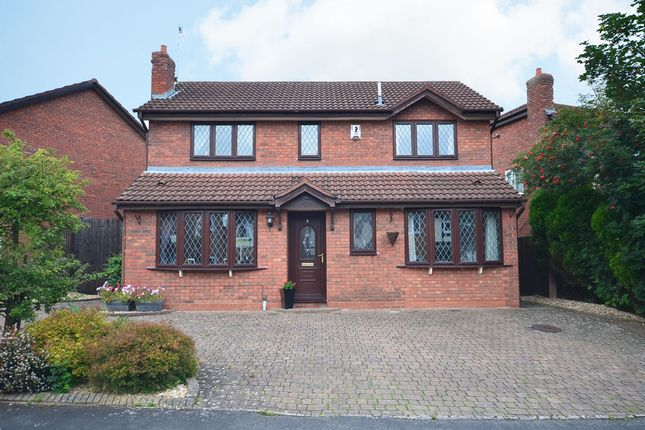 Thumbnail Detached house for sale in Boscombe Grove, Trentham, Stoke-On-Trent