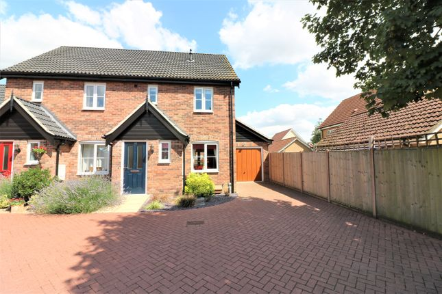 Thumbnail End terrace house for sale in Captain Ford Way, Dereham