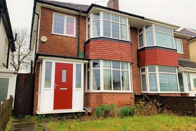 Thumbnail Semi-detached house for sale in Tessall Lane, Rednal, Birmingham