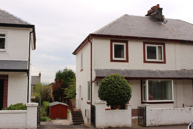 Thumbnail Semi-detached house for sale in Broomberry Drive, Gourock
