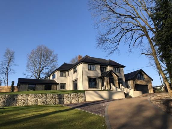 Thumbnail Detached house for sale in Castle Hill, Mottram St Andrew, Cheshire, Uk