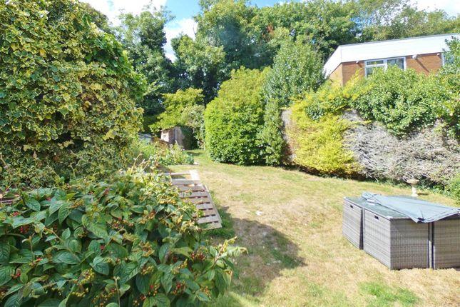 Rear Garden of Greenway, Eastbourne BN20