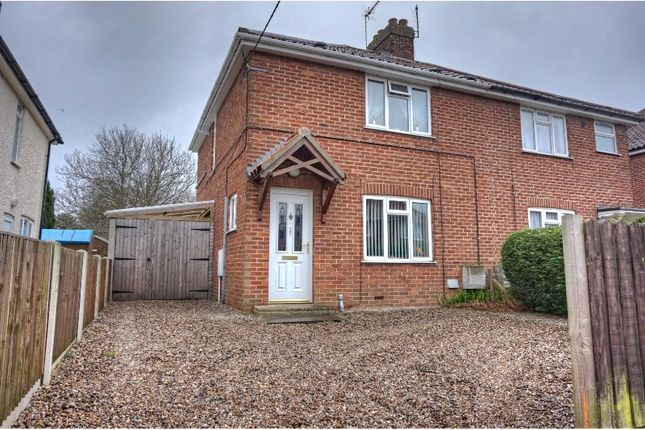 Thumbnail Semi-detached house for sale in Coronation Road, Holt