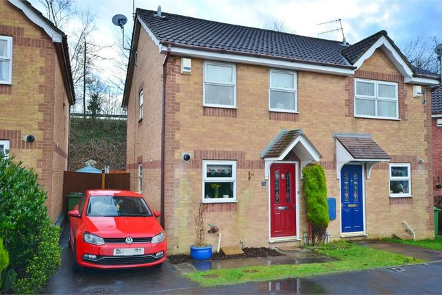 Thumbnail Semi-detached house for sale in Y Felin Ffrwd, Caerphilly