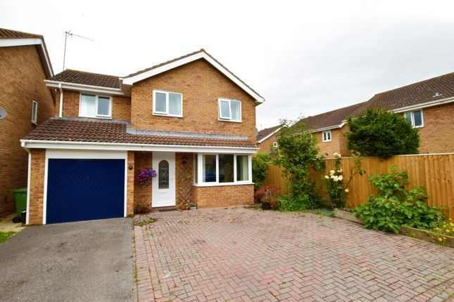 Thumbnail Detached house for sale in Aspen Close, Evesham