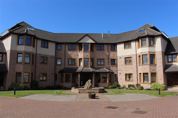 Thumbnail Flat for sale in Mosset Grove, Forres