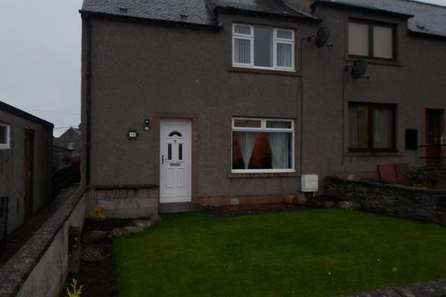 Thumbnail End terrace house to rent in Jeanfield Road, Forfar