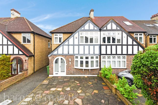 Thumbnail Semi-detached house for sale in Harcourt Field, Wallington