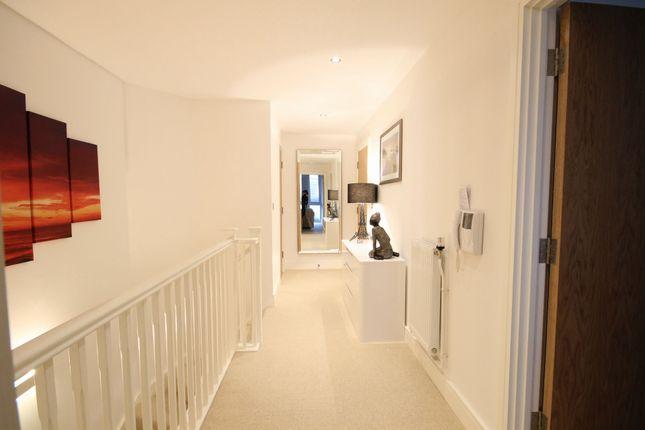 Up Hallway of Beacon Point, 12 Dowells Street, New Capital Quay, Greenwich SE10