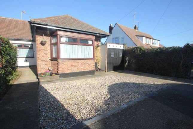 Thumbnail Semi-detached bungalow for sale in Meadow Way, Hockley