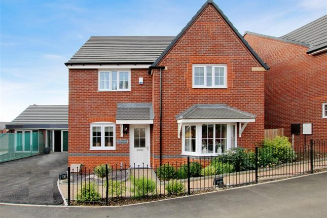 Thumbnail Detached house for sale in Morville Street, Webheath, Redditch