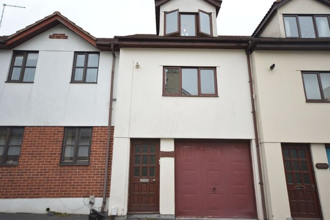 Thumbnail Terraced house to rent in Old Exeter Road, Newton Abbot