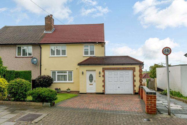 Thumbnail Semi-detached house for sale in Slades Drive, Chislehurst