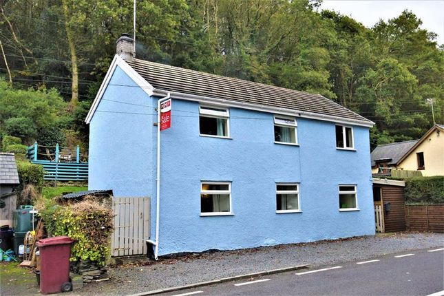 Thumbnail Detached house for sale in Eglwys Fach, Machynlleth